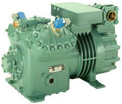 Semi-Hermetic 1-stage reciprocating compressors Bitzer Ecoline series for R134a