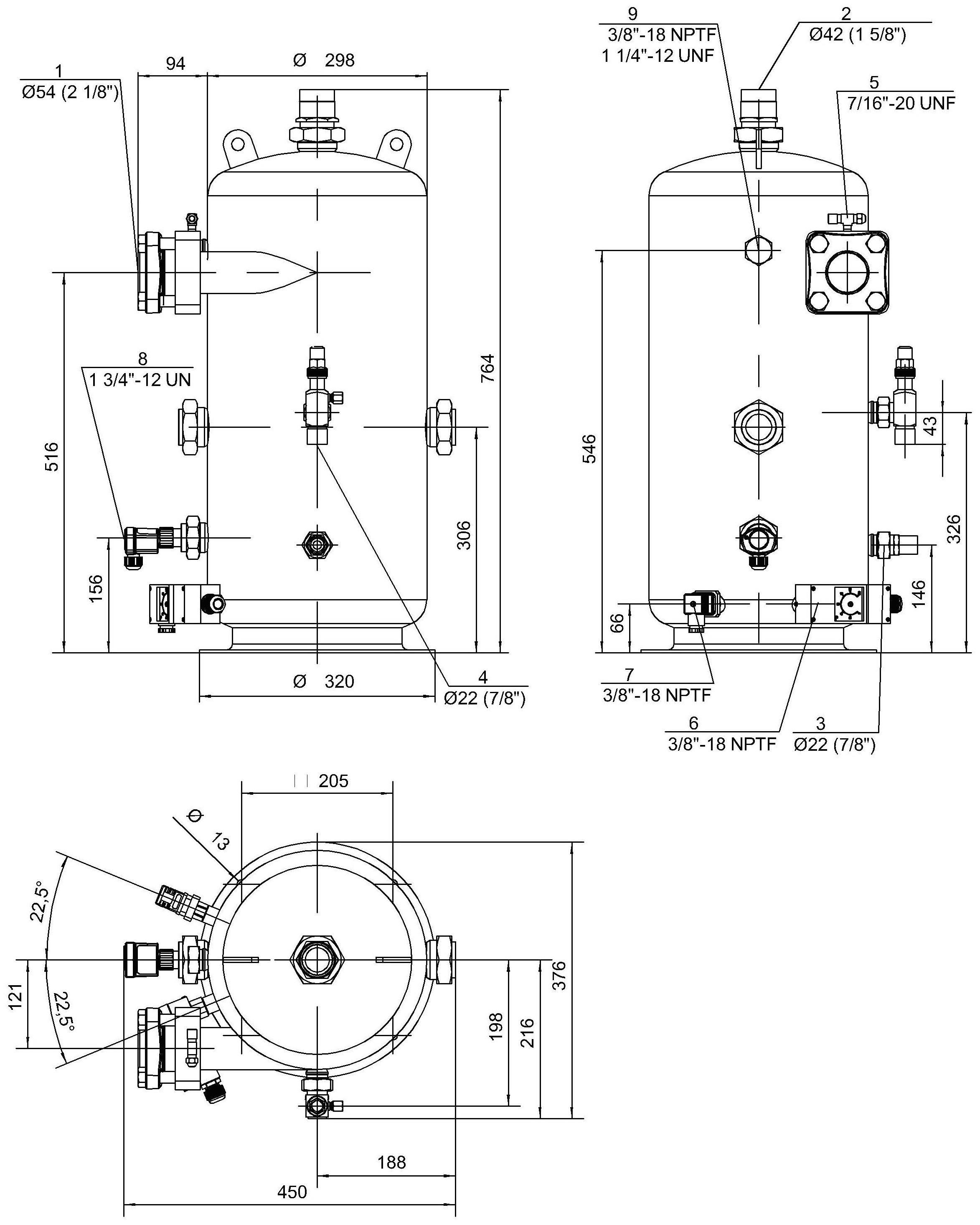 ts-bitzer-oa1954-gabaritno-prisoedinitelnie-razmeri