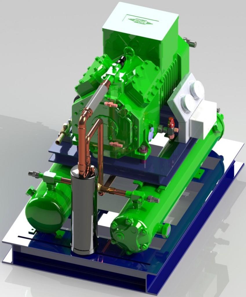Компрессорно-конденсаторный-агрегат