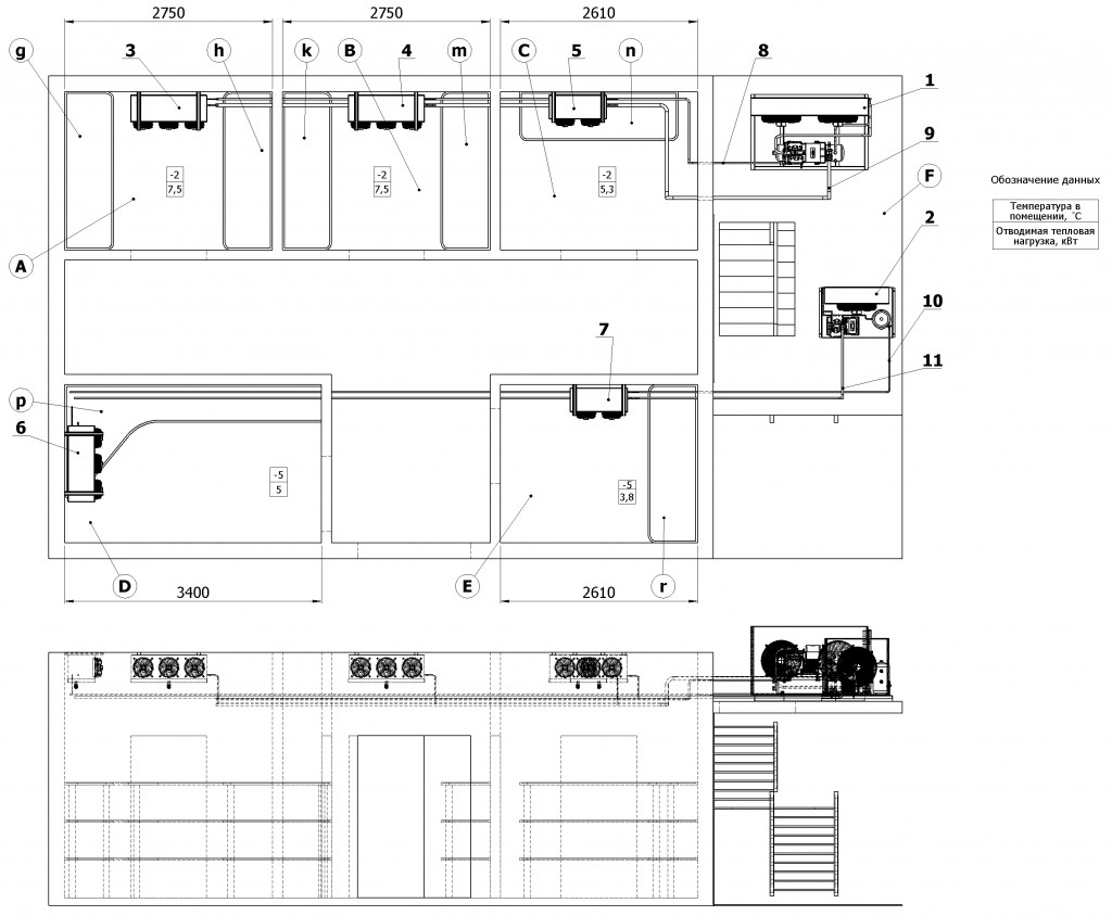 Compartment-layout-and-main-equipment-location-of-refrigeration-unit