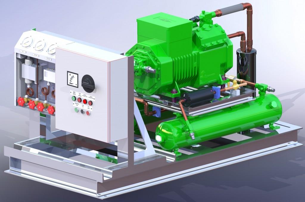 Агрегат компрессорно-конденсаторный ККА-24-В