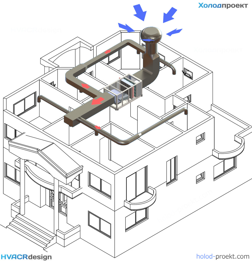 Apartment Building Systems Diagram Wiring Electricity Diagrams Application Of Ground Air Heat Pumps In Hvac Rh Holod Proekt Com Schematic 3 Bedroom Clip Art