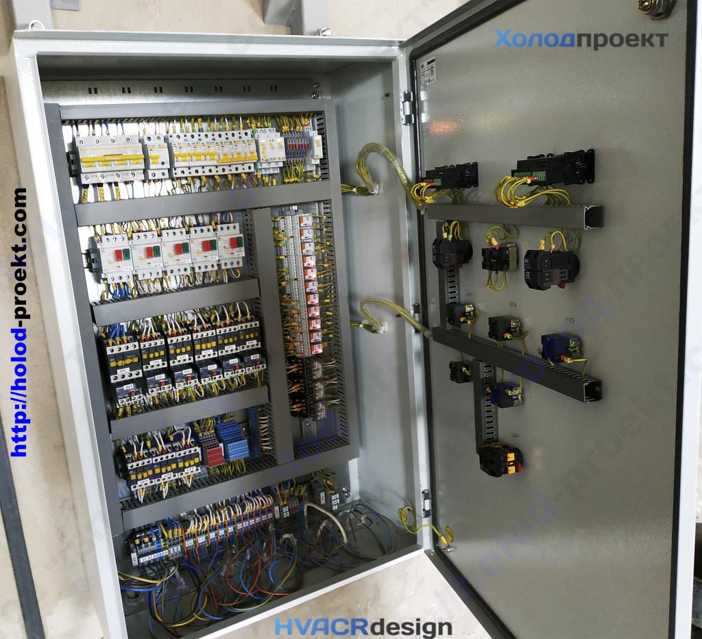 Рисунок 2 - Фото щита управления холодильной установкой на хладокомбинате